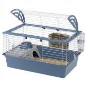 Cage cavie 80 pour grands rongeurs - Gris
