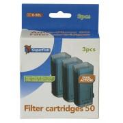 Mousse de filtration pour Aquaflow 50, 3 pièces