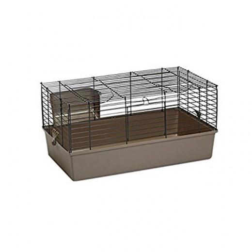 Cage grand rongeur Baldo 100 moka 100x53x46cm