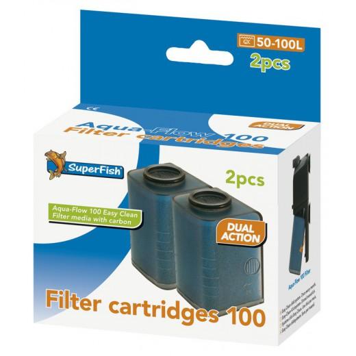Mousse de filtration pour Aquaflow 100, 2 pièces