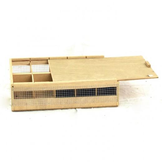 Cageot 10 comp. Agapornides 38x27x9 cm
