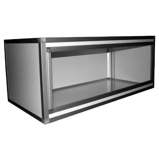 Terrarium PVC/ALU Blanc  120x60x50, 10mm