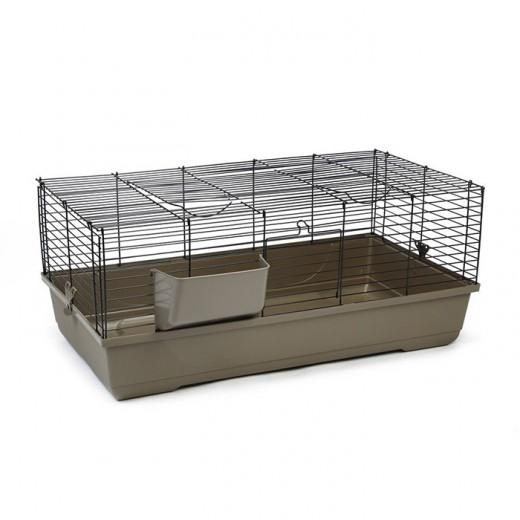 Cage grand rongeur Baldo 120 moka 118x59x46c