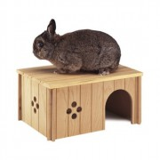 Maisonette en bois pour rongeur - Sin 4646 - Large