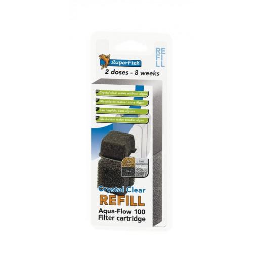 Cartouche de filtration pour Aquaflow 100, 2 pièces
