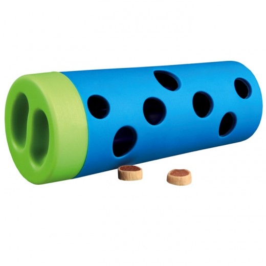 Jouet distributeur croquettes Snack Roll  ø6/ø5 × 14 cm