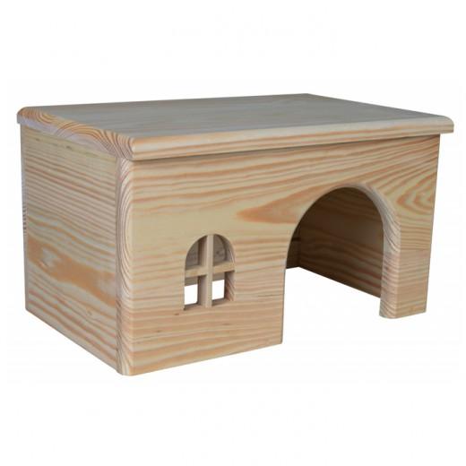 maisonnette en bois pour cochons d 39 inde. Black Bedroom Furniture Sets. Home Design Ideas