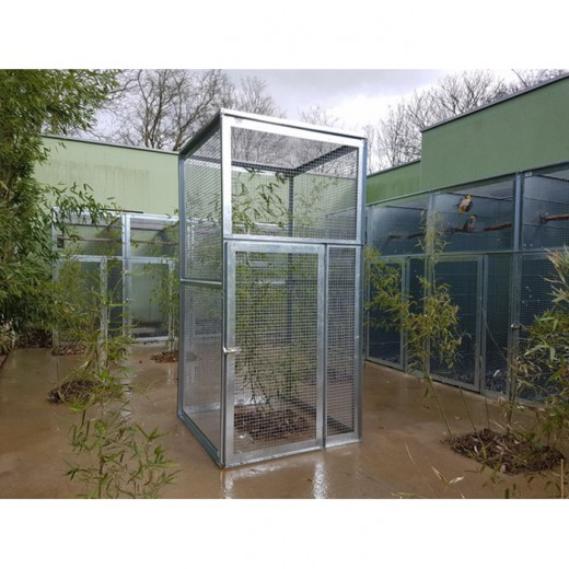 voli re modulable 1x1x2 toit grillag petite porte. Black Bedroom Furniture Sets. Home Design Ideas