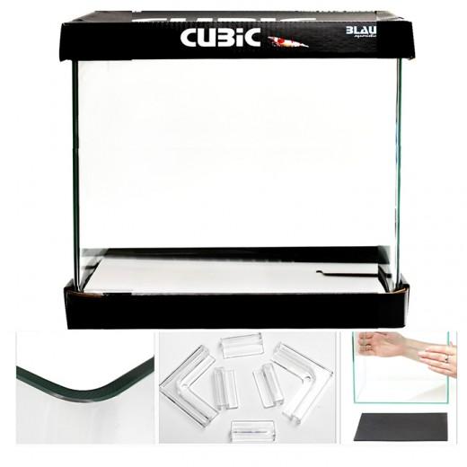 Aquarium Cubic 20x20x25 - 10 Litres