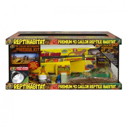 ReptiHabitat kit Tortues de terre 91x46x46cm Zoomed