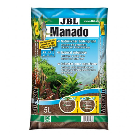 Substrat naturel Manado - 5L