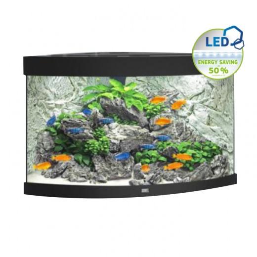 Aquarium équipé Trigon 190 noir, 98,5x70x60 cm