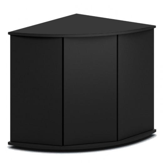 Meuble Trigon 350 noir, 123x87x73 cm