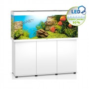 Ensemble aquarium + meuble Rio 450 LED - 450L - Blanc