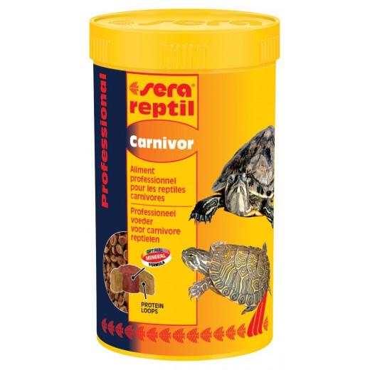 Nourriture granulés Sera reptil professional carnivor, 250ml