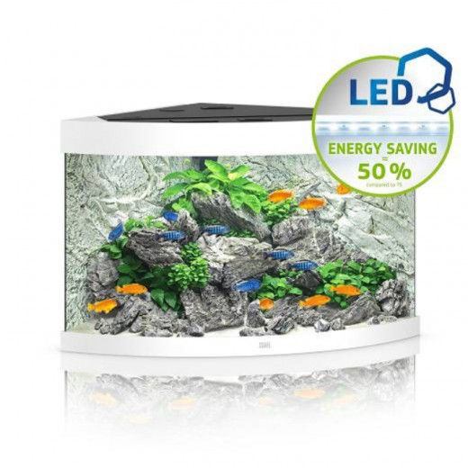 Aquarium Trigon 190 LED - Blanc