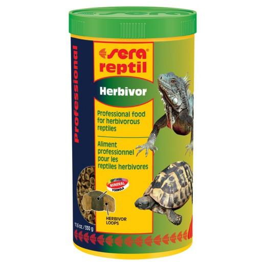 Nourriture Sera reptil professional herbivor 1L