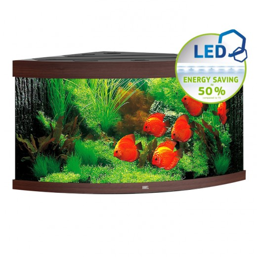 Aquarium Trigon 350 LED - Brun