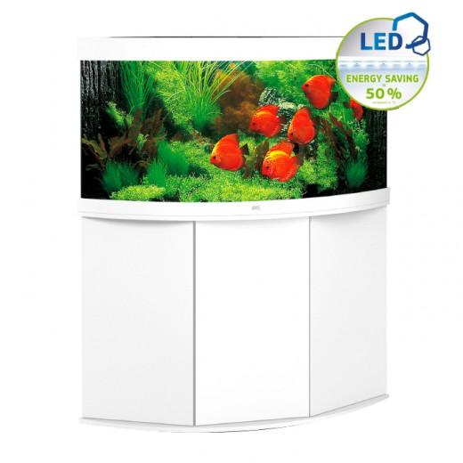 Ensemble aquarium + meuble Trigon 350 LED - Blanc