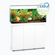 Ensemble aquarium + meuble Rio 180 LED - 180L - Blanc