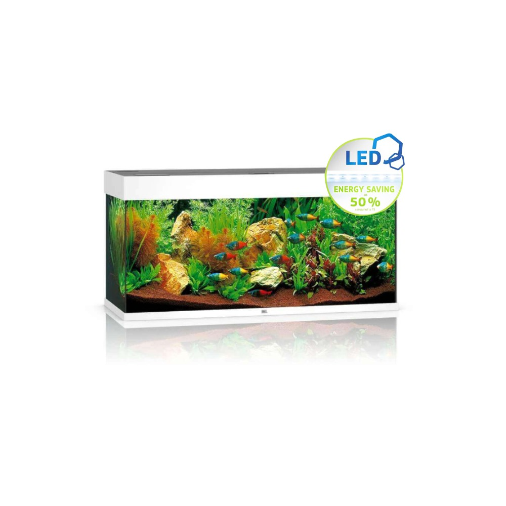 Aquarium juwel rio 180 led 180l blanc for Aquarium juwel