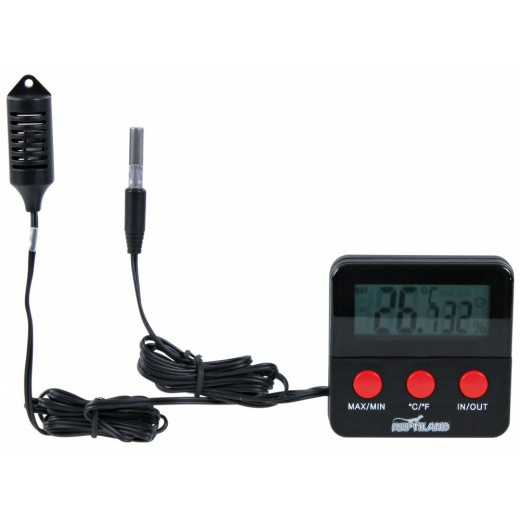 Thermomètre/hygromètre digital Trixie, avec sonde