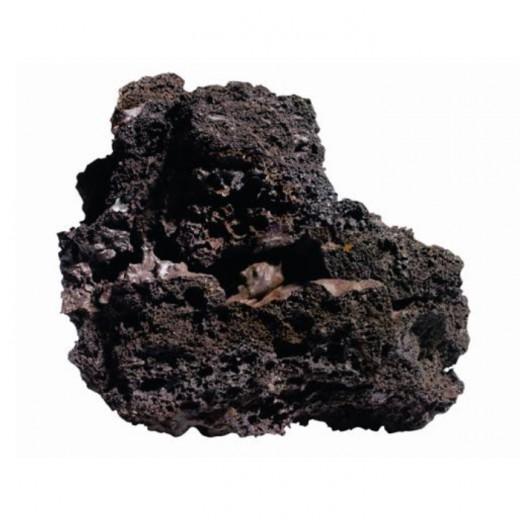 Rocher de lave islandais