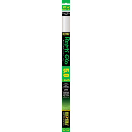 Tube UVB Exo Terra Repti glo 15w 45cm 5.0