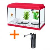 Aquarium NanoLife KIDZ - 8L - Rouge, blanc bleu ou vert