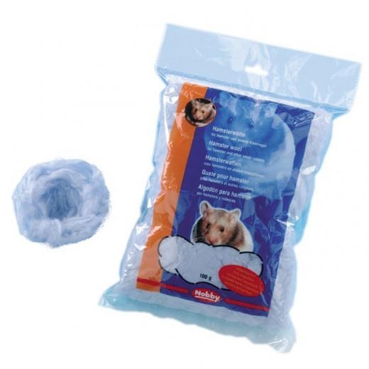Ouate pour lit hamster - 100 gr