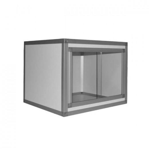 Terrarium PVC/ALU Blanc  60x60x50, 10mm