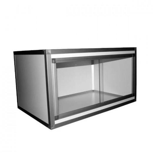Terrarium PVC/ALU Blanc  60x60x75, 10mm