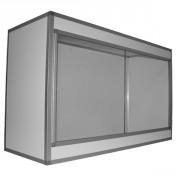 Terrarium PVC/ALU Blanc  90x60x50, 10mm